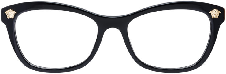 PRESCRIPTION-GLASSES-MODEL-VERSACE-MOD.3224-BLACK-FRONT