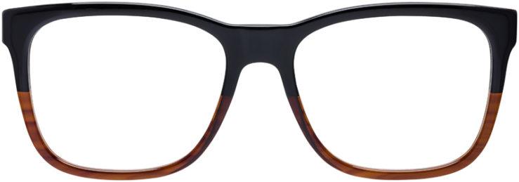 PRESCRIPTION-GLASSES-MODEL-VERSACE-MOD.3243-BLACK-BROWN-GRADIENT-FRONT
