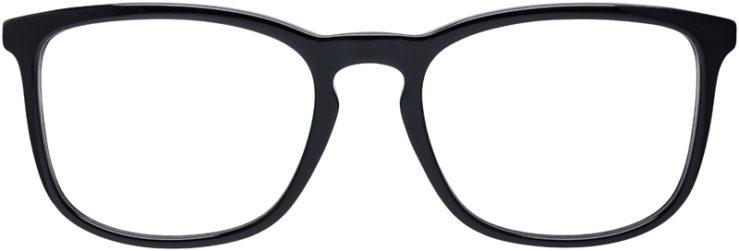 PRESCRIPTION-GLASSES-MODEL-VERSACE-MOD.3252-BLACK-FRONT