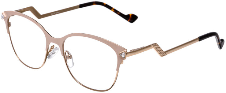 PRESCRIPTION-GLASSES-MODEL-DC-167-CRÈME-GOLD-45