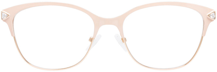 PRESCRIPTION-GLASSES-MODEL-DC-167-CRÈME-GOLD-FRONT
