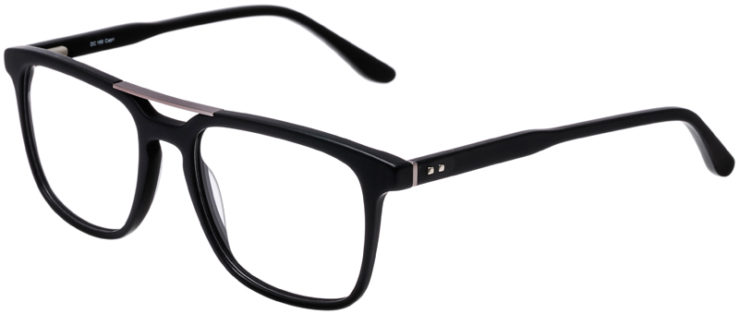 PRESCRIPTION-GLASSES-MODEL-DC-169-MATT-BLACK-GUNMETAL-45