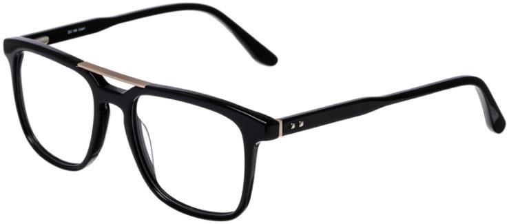 PRESCRIPTION-GLASSES-MODEL-DC-169-SHINY-BLACK-GOLD-45