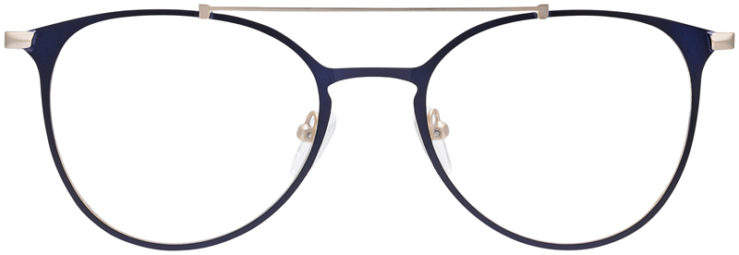 PRESCRIPTION-GLASSES-MODEL-DC-174-BLUE-GOLD-FRONT