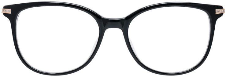 PRESCRIPTION-GLASSES-MODEL-DC-323-BLACK-FRONT