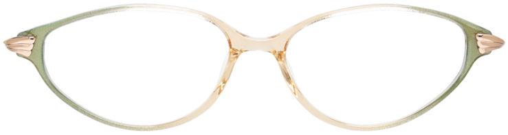 PRESCRIPTION-GLASSES-MODEL-LOGO-ES-2461-GREEN-BEIGE-FRONT