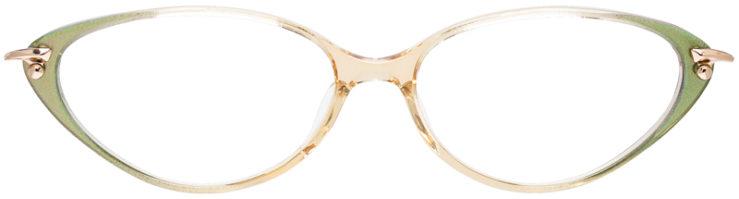 PRESCRIPTION-GLASSES-MODEL-LOGO–ES-2464-GREEN-BEIGE-FRONT