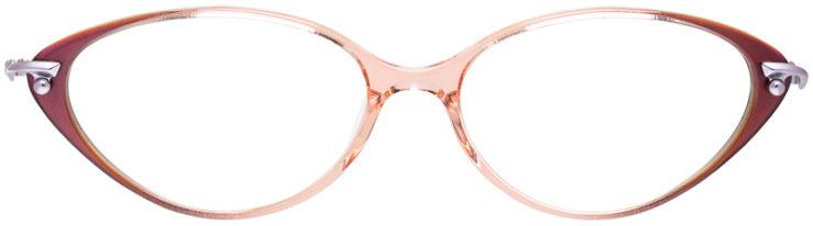 PRESCRIPTION-GLASSES-MODEL-LOGO-ES-2464-ROSE-FRONT