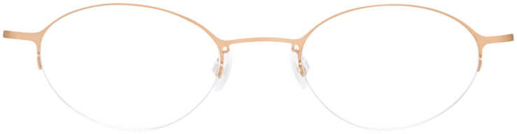 PRESCRIPTION-GLASSES-MODEL-LOGO-NY-2429-GOLD-FRONT