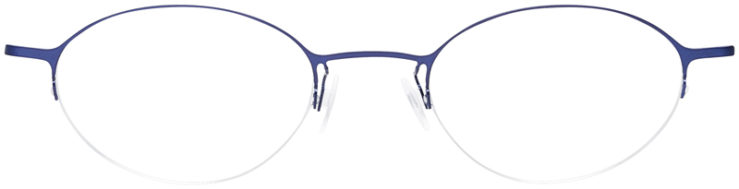 PRESCRIPTION-GLASSES-MODEL-LOGO-NY-2429-MATTE-NAVY-FRONT