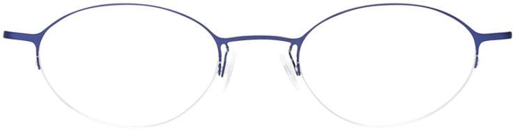 PRESCRIPTION-GLASSES-MODEL-LOGO-NY-2429-MATTE-NAVY-FRONT