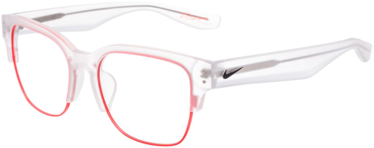 PRESCRIPTION-GLASSES-MODEL-NIKE-35KD-MATTE-CRYS.-CLEAR-BRIGHT-CRIMSO-45
