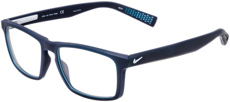 PRESCRIPTION-GLASSES-MODEL-NIKE-4258-MATTE-BLUE-WHITE-45