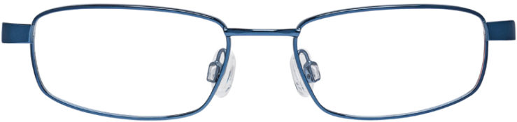 PRESCRIPTION-GLASSES-MODEL-NIKE-4635-BLUE-BLACK-FRONT