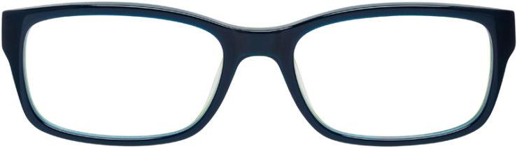 PRESCRIPTION-GLASSES-MODEL-NIKE-5513-BLUE-GREEN-FRONT