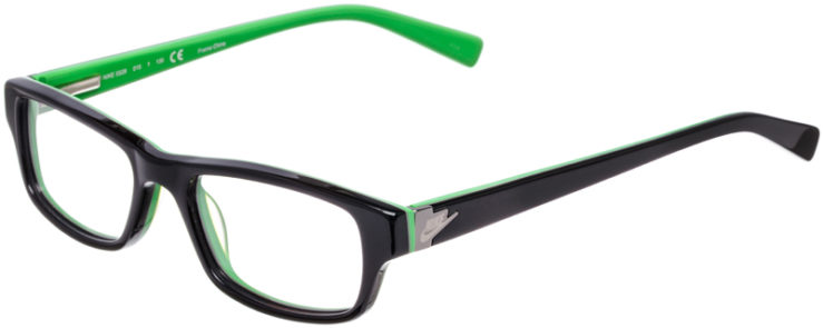 PRESCRIPTION-GLASSES-MODEL-NIKE-5528-BLACK-GREEN-45