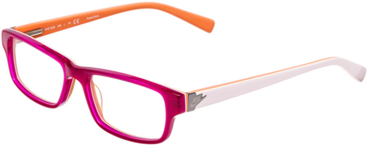 PRESCRIPTION-GLASSES-MODEL-NIKE-5528-RASBERRY-RED-45