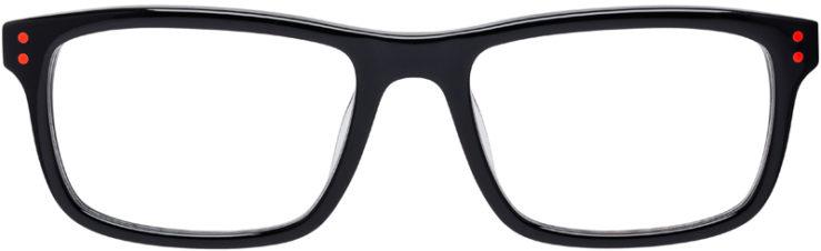 PRESCRIPTION-GLASSES-MODEL-NIKE-5536-BLACK-HYPERPUNCH-FRONT