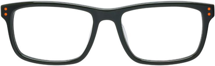 PRESCRIPTION-GLASSES-MODEL-NIKE-5536-ORANGE-CARGO-KHAKI-FRONT