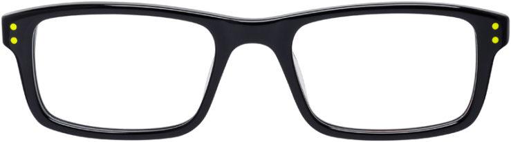 PRESCRIPTION-GLASSES-MODEL-NIKE-5537-BLACK-VOLT-FRONT