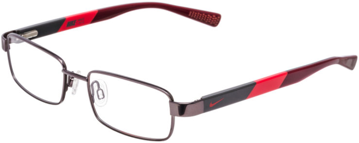PRESCRIPTION-GLASSES-MODEL-NIKE-5573-GUNMETAL-CHALLENGE-RED-45