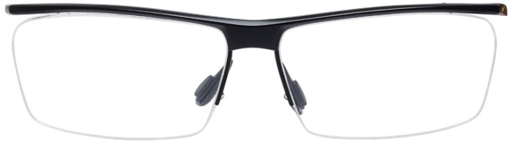 PRESCRIPTION-GLASSES-MODEL-NIKE-6061-SATIN-BLACK-DARK-GREY-FRONT