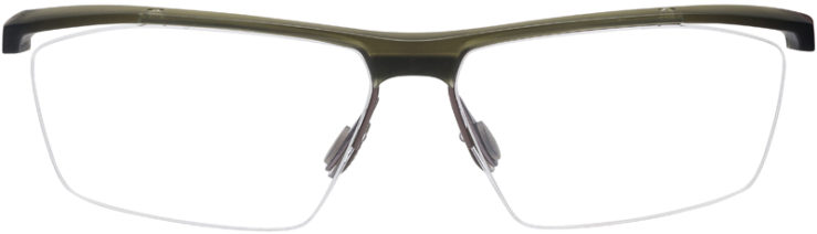 PRESCRIPTION-GLASSES-MODEL-NIKE-7076-MT-CRY-CARGO-KHAKI-IRON-GREEN-FRONT