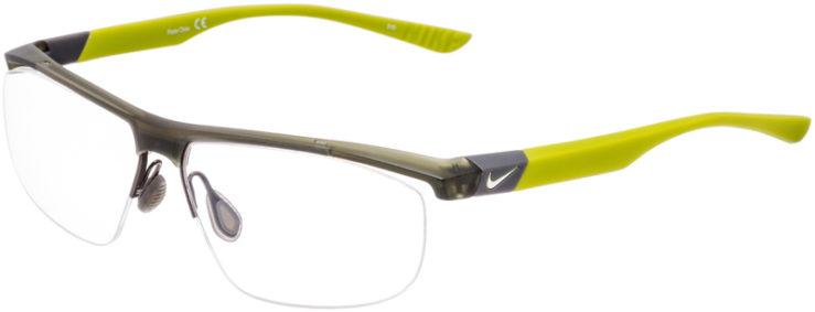 PRESCRIPTION-GLASSES-MODEL-NIKE-7077-GREY-LIME-45