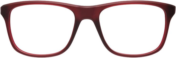 PRESCRIPTION-GLASSES-MODEL-NIKE-7097-MATTE-RED-WOLF-GREY-FRONT
