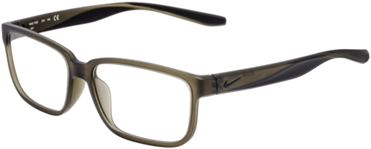PRESCRIPTION-GLASSES-MODEL-NIKE-7102-MATTE-CARGO-KHAKI-45