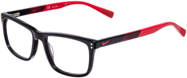 PRESCRIPTION-GLASSES-MODEL-NIKE-7238-BLACK-RED-45