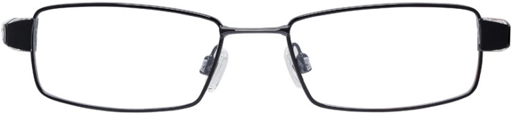 PRESCRIPTION-GLASSES-MODEL-NIKE-8065-BLACK-CRYSTAL-DEMO-FRONT