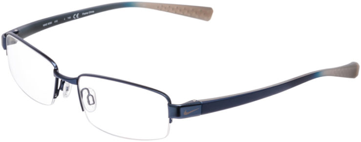 PRESCRIPTION-GLASSES-MODEL-NIKE-8090-BLUE-SATIN-PEWTER-DEMO-45