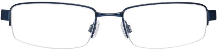 PRESCRIPTION-GLASSES-MODEL-NIKE-8090-BLUE-SATIN-PEWTER-DEMO-FRONT
