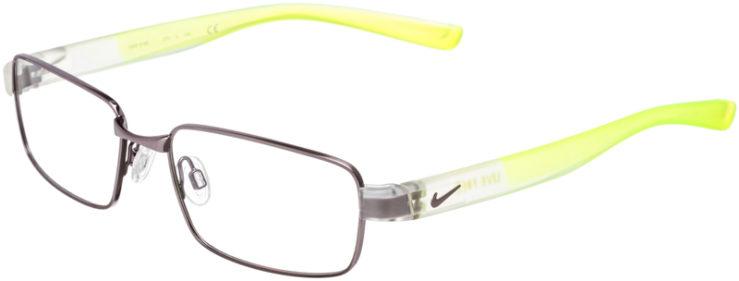 PRESCRIPTION-GLASSES-MODEL-NIKE-8166-BRUSHED-GM-GREY-VOLT-45