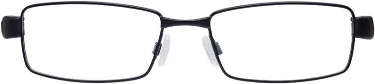 PRESCRIPTION-GLASSES-MODEL-NIKE-8167-SATIN-BLACK-CRYSTAL-VOLT-FRONT