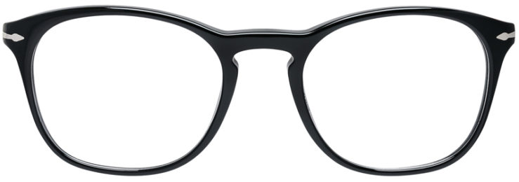 PRESCRIPTION-GLASSES-MODEL-PERSOL-3007-V-BLACK-FRONT