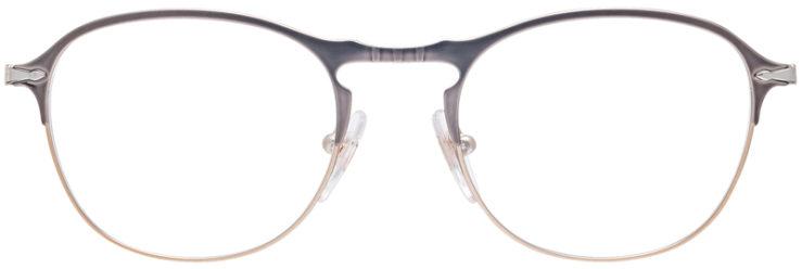 PRESCRIPTION-GLASSES-MODEL-PERSOL-7007-V-MATTE-SILVER-FRONT