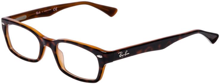 PRESCRIPTION-GLASSES-MODEL-RAY-BAN-RB5150-BROWN-TORTOISE-45