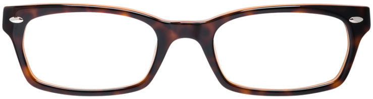 PRESCRIPTION-GLASSES-MODEL-RAY-BAN-RB5150-BROWN-TORTOISE-FRONT