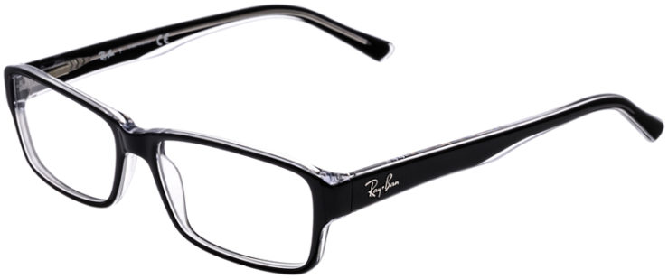 PRESCRIPTION-GLASSES-MODEL-RAY-BAN-RB5169-BLACK-CRYSTAL-45
