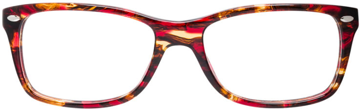 PRESCRIPTION-GLASSES-MODEL-RAY-BAN-RB5228-BURGUNDY-TORTOISE-FRONT