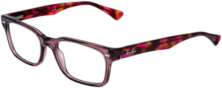 PRESCRIPTION-GLASSES-MODEL-RAY-BAN-RB5286-PURPLE-TORTOISE-45
