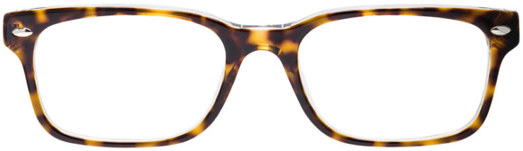 PRESCRIPTION-GLASSES-MODEL-RAY-BAN-RB5286-TORTOISE-FRONT