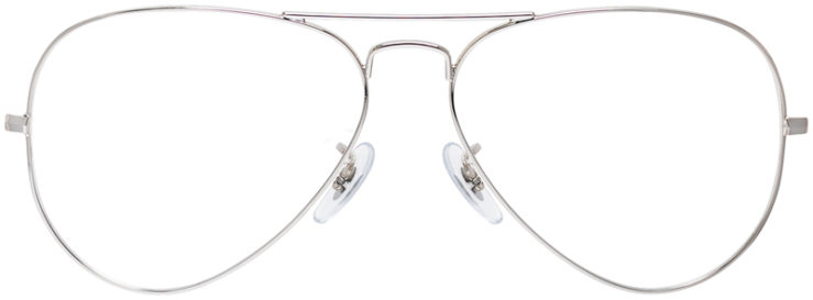 PRESCRIPTION-GLASSES-MODEL-RAY-BAN-RB6489-SILVER-FRONT