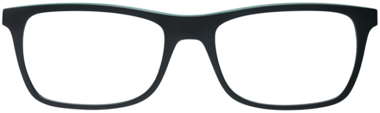 PRESCRIPTION-GLASSES-MODEL-RAY-BAN-RB7062-MATTE-BLACK-GREEN-FRONT