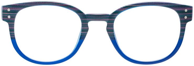 PRESCRIPTION-GLASSES-MODEL-US-92-BROWN-BLUE-FRONT