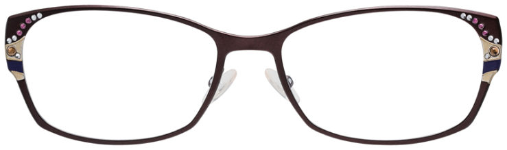 PRESCRIPOTION-GLASSES-MODEL-CAVIAR-M1776-MATTE-BROWN-FRONT