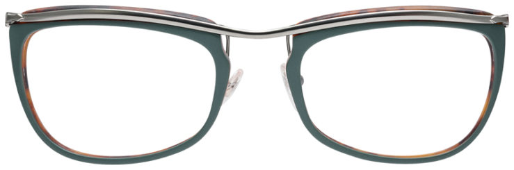 PRESCRIPOTION-GLASSES-MODEL-PERSOL-3083-V-MATTE-GREEN-FRONT