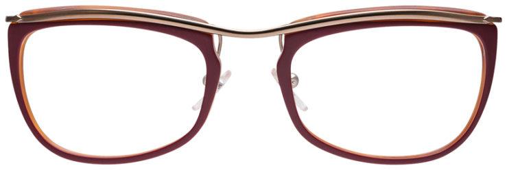PRESCRIPOTION-GLASSES-MODEL-PERSOL-3083-V-MATTE-RED-FRONT